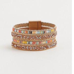 TORRID NWOT Multicolored Cuff Bracelet